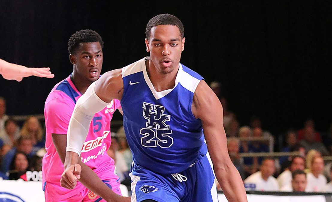 PJ Washington puts up terrific highlights in Bahamas