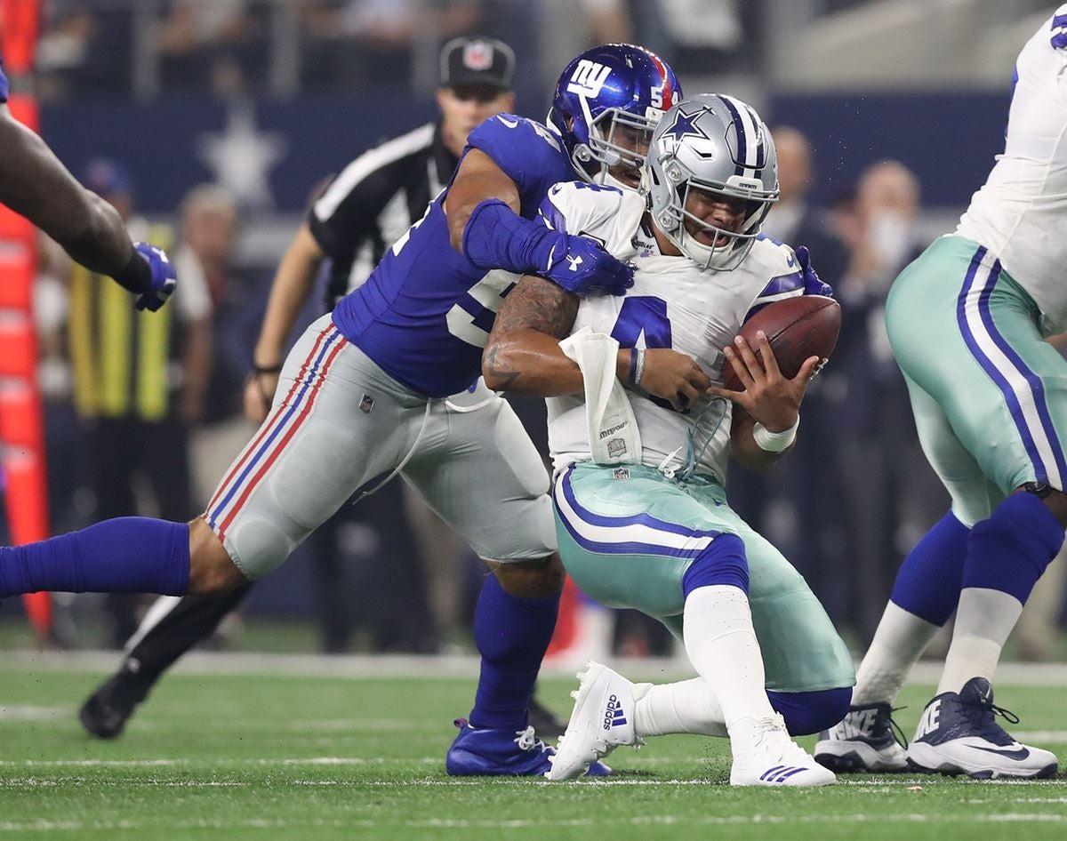 Giants Release Final Friday Injury Report: Week 10 vs. 49ers