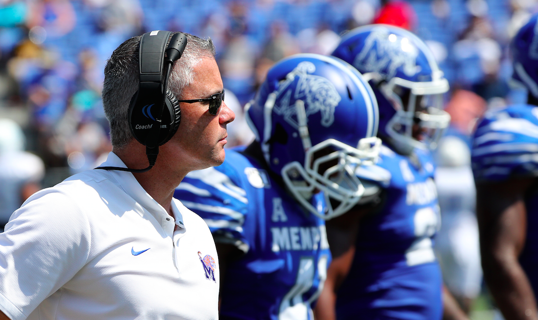 Mike Norvell buys full-page ad in Memphis newspaper