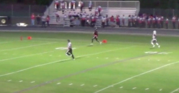 WATCH: FSU commit Demorie Tate scores on 95 yard TD pass