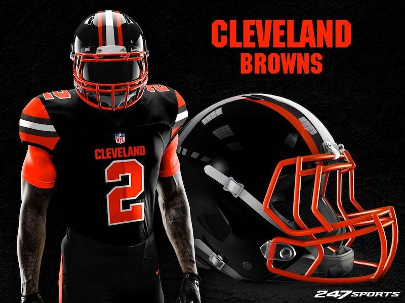 new styles 4491b 95220 Blackout Uniforms For Every NFL Team