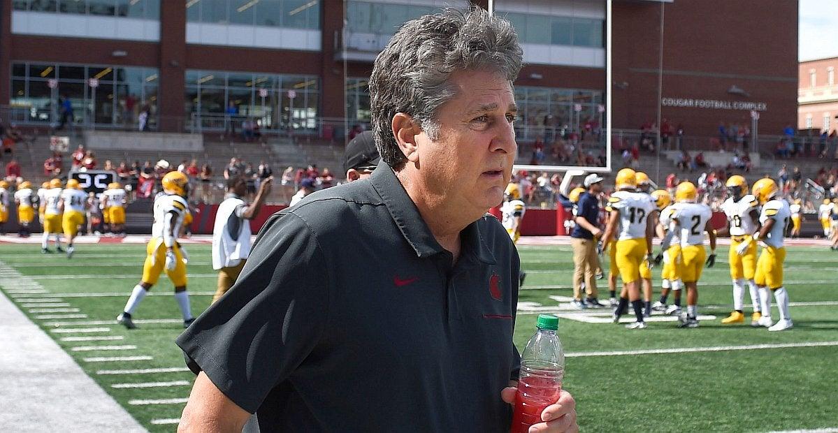 WSU's Mike Leach not big on Holgorsen nostalgia ahead of Houston