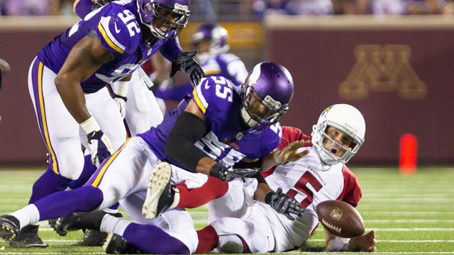 Notebook: Vikings likely to be shorthanded beyond O-line