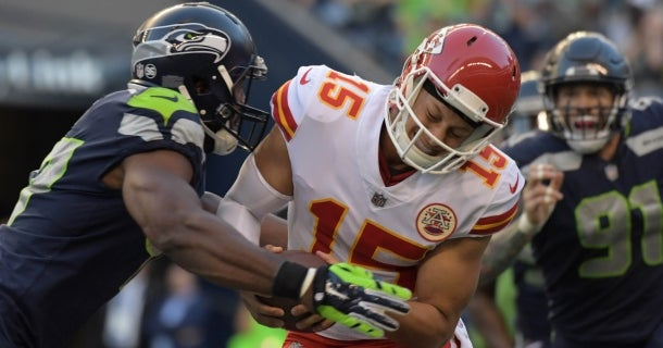 e7591fa99 Kansas City Chiefs at Seattle Seahawks  Projected starters