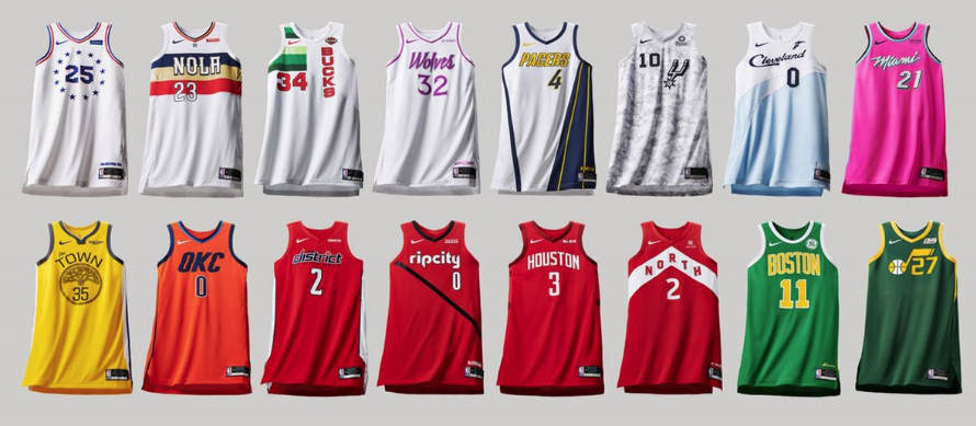 8ea152e0b0d Ranking Nike's 2018-19 NBA Earned edition uniforms