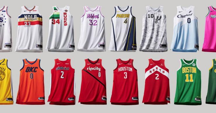 Ranking Nike s 2018-19 NBA Earned edition uniforms b5004de08