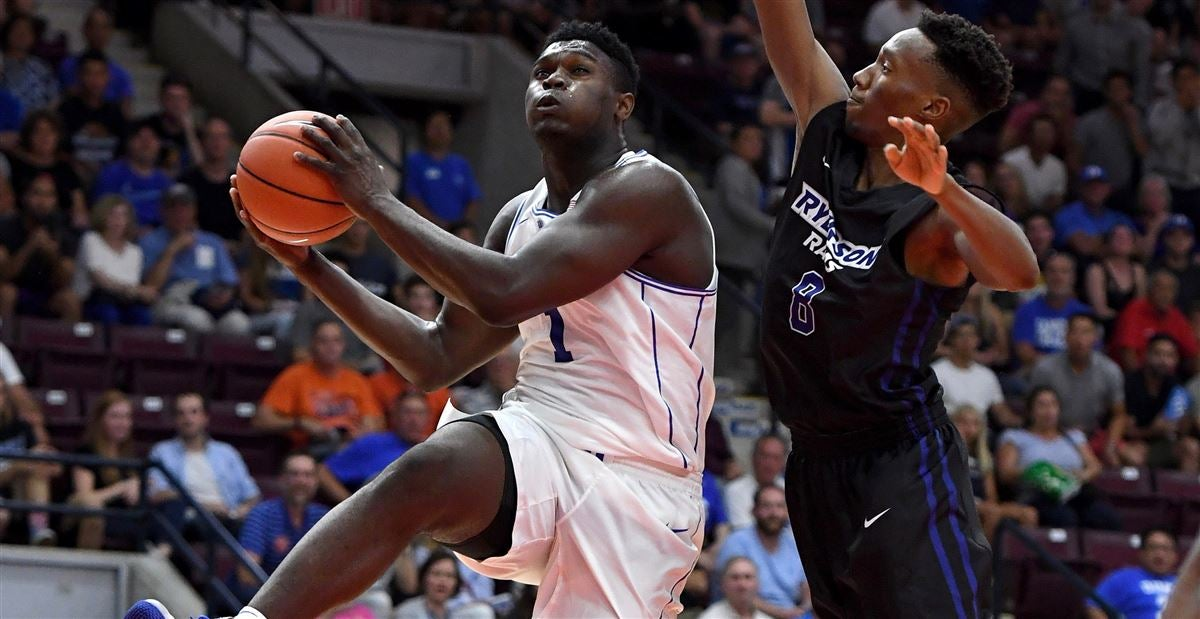 Media awed by Zion Williamson's opening night performance