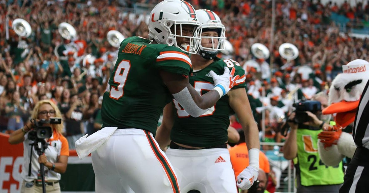 TEs Mallory and Jordan ready to be weapons for UM's new offense