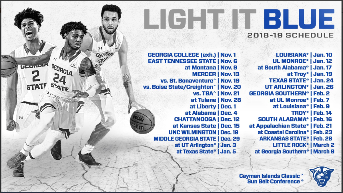 men's basketball schedule 2018-19