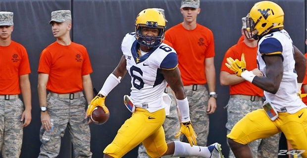 Image result for dravon henry wvu