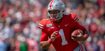 Justin Fields' rocket-like rise started with Penn State