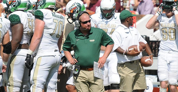 UAB Assistant Coach Jody Wright