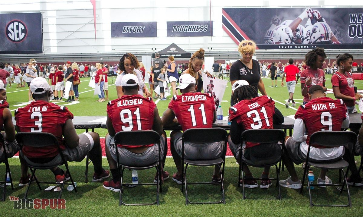 In Photos: Gamecocks hold Fan Appreciation Day