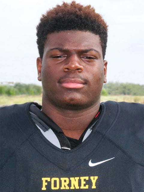 Forney DT Hutchings commits to Texas Tech