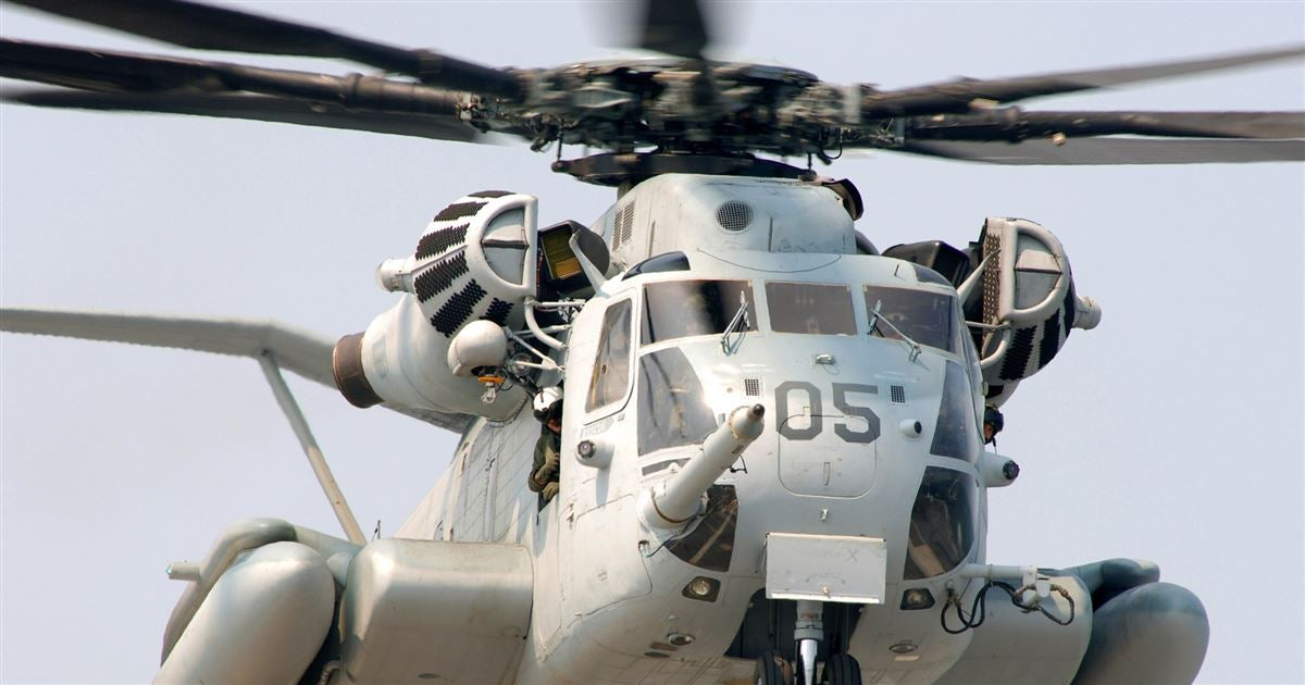 Marine Corps Builds New High-Tech CH-53K Heavy Lift ...