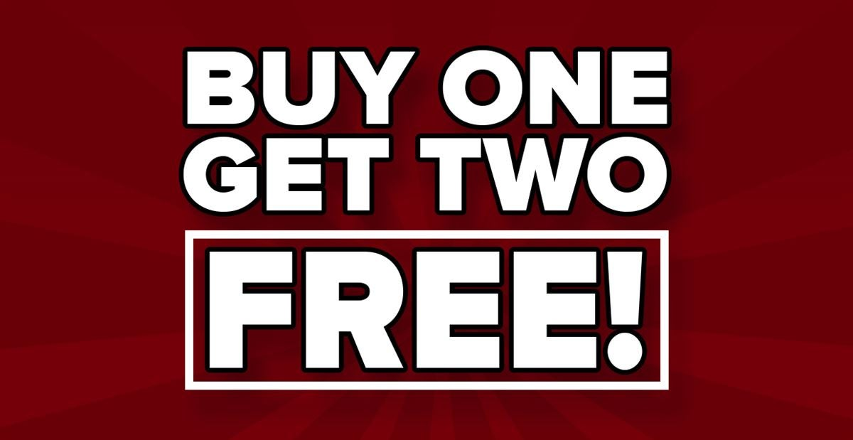 Buy one month, get TWO MONTHS FREE!