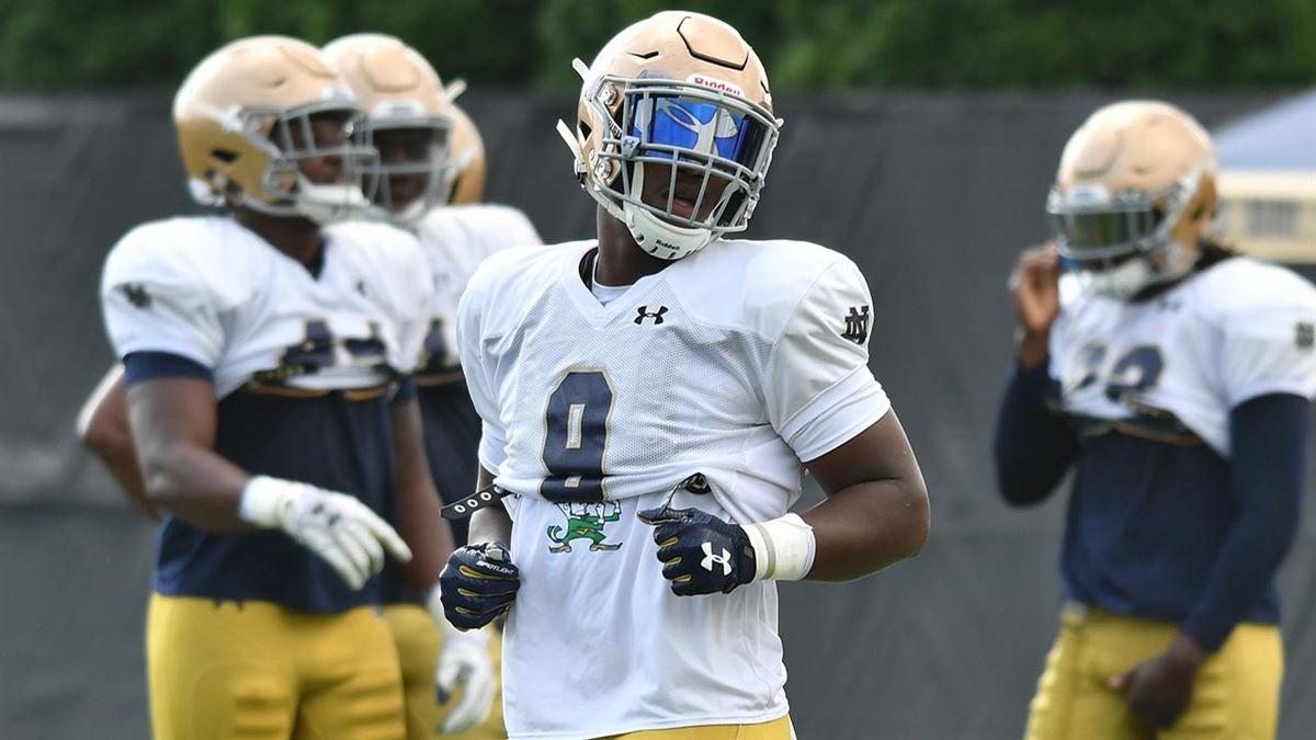 Notre Dame Practice Report: Defense Aug. 9