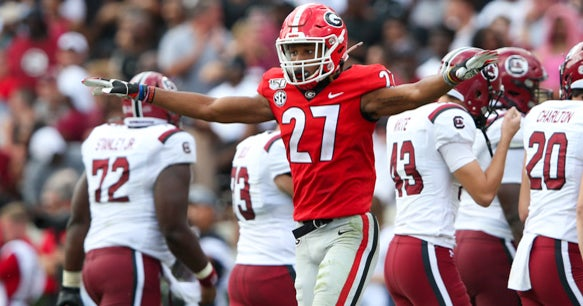 Georgia players get 'right back to work' after loss
