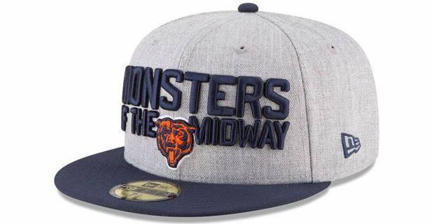 Chicago Bears release official 2018 NFL Draft cap d319ddfdca7