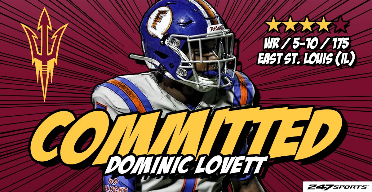 Top 247 WR Lovett commits to ASU