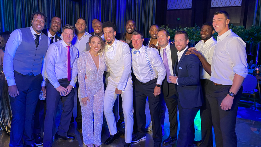 Carolina Basketball Family Reunites For Danny Green's Wedding