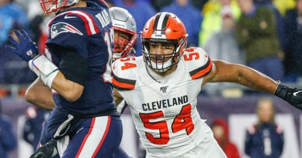 Report: Cleveland Browns restructure Olivier Vernon's contract