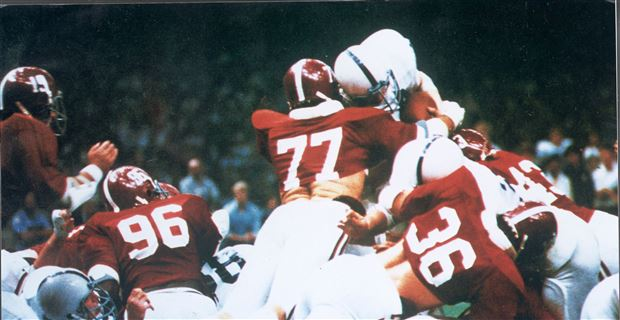 Alabama Goalline Stand vs. Penn State in 1979 Sugar Bowl