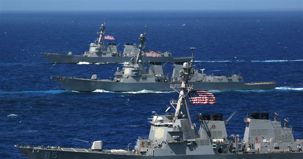 Navy Finishing Design for New Flight III Guided Missile Destroyers