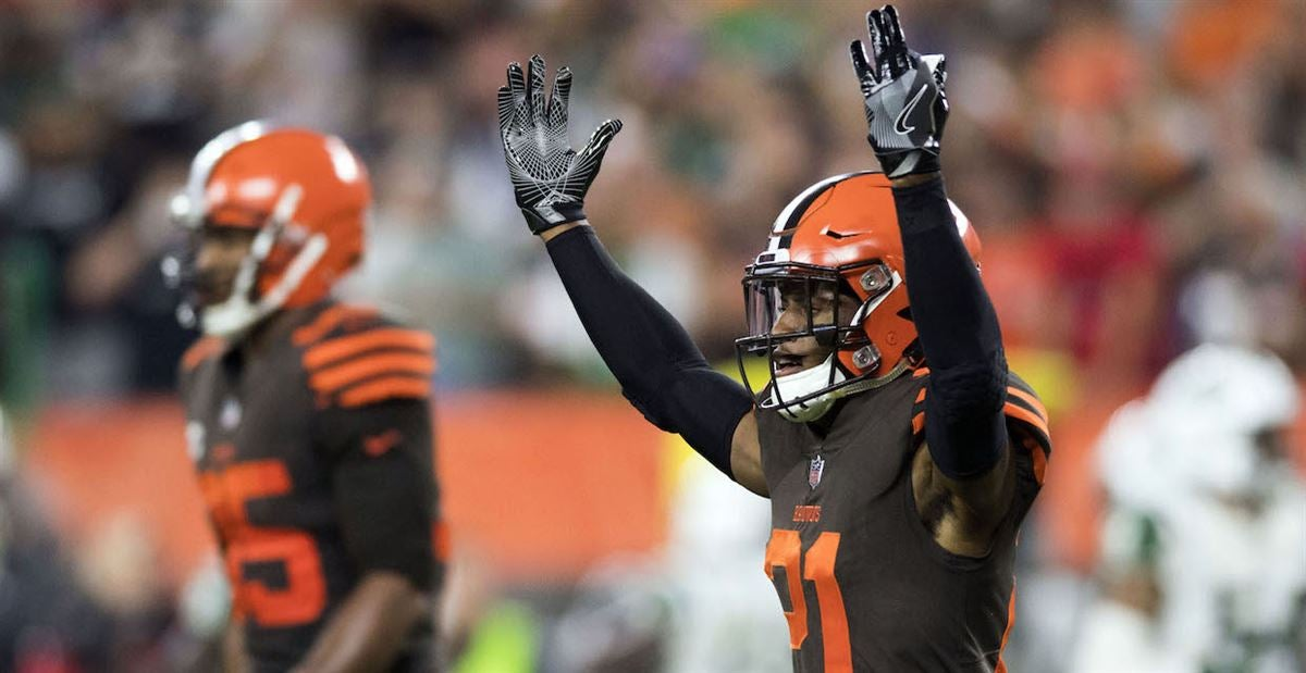 3ee44a01624 NFL media reacts to Browns' Color Rush jerseys