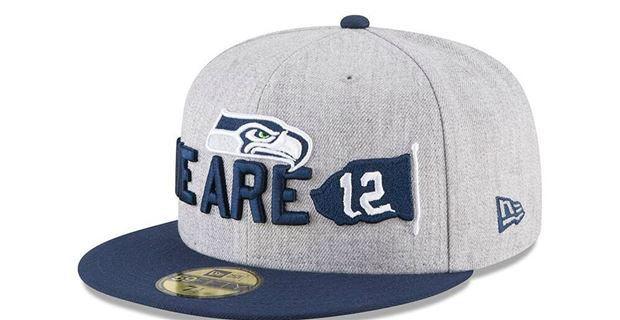 First look at Seattle Seahawks 2018 NFL Draft hat released 65875d9160d