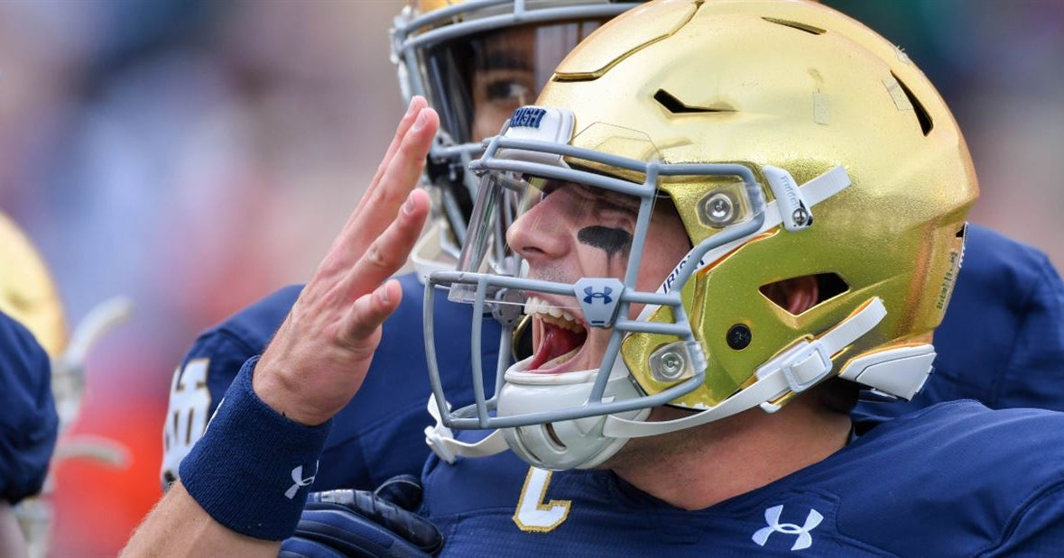 Holly Rowe Sits Down with Notre Dame Heisman Candidate Ian Book