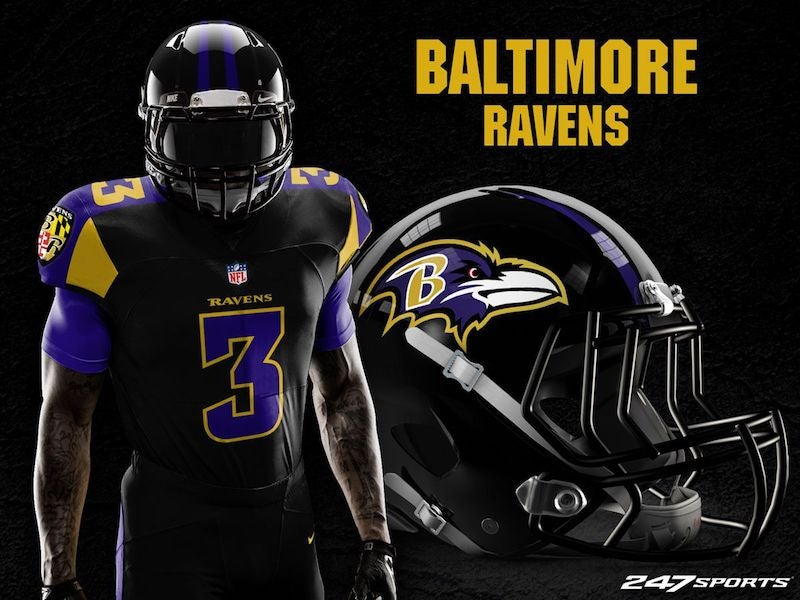 9b6c82ddf3b Baltimore Ravens. (Photo: 247Sports)