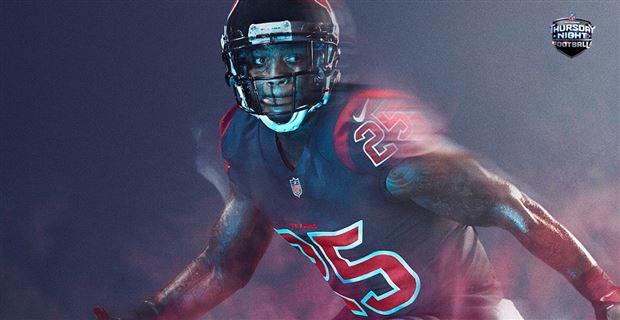 on sale 65444 39385 NFL Unveils Texans Uniforms For Color Rush