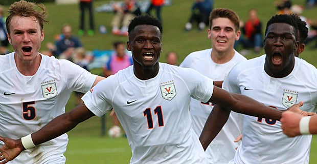 No. 1 UVA remains undefeated thanks to spectacular strike