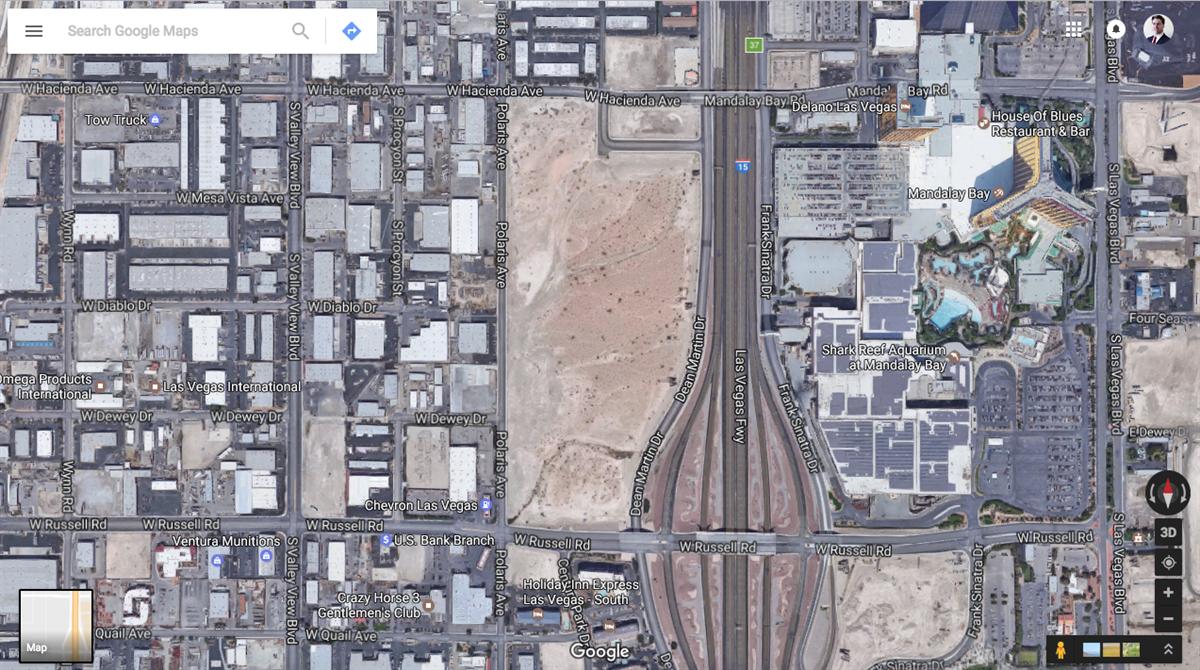 Report Raiders Settle On Site For Las Vegas Stadium