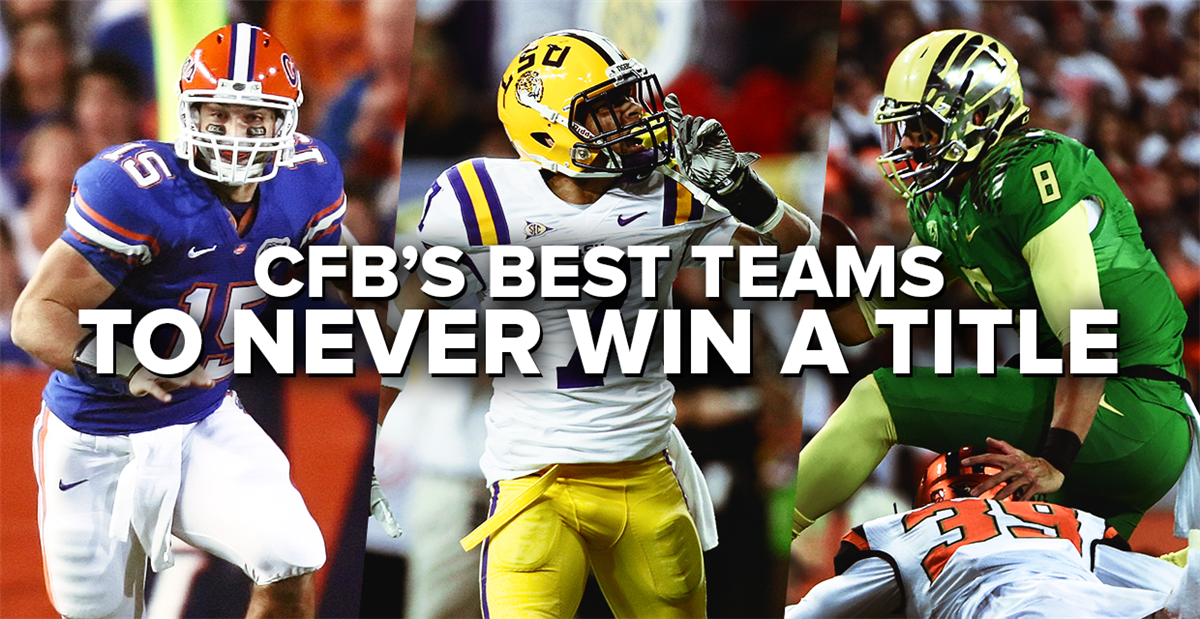 College football's best teams to never win a BCS or CFP title