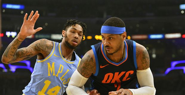 c4d85a7bfb2d Report  Carmelo Anthony wants to play with Lakers