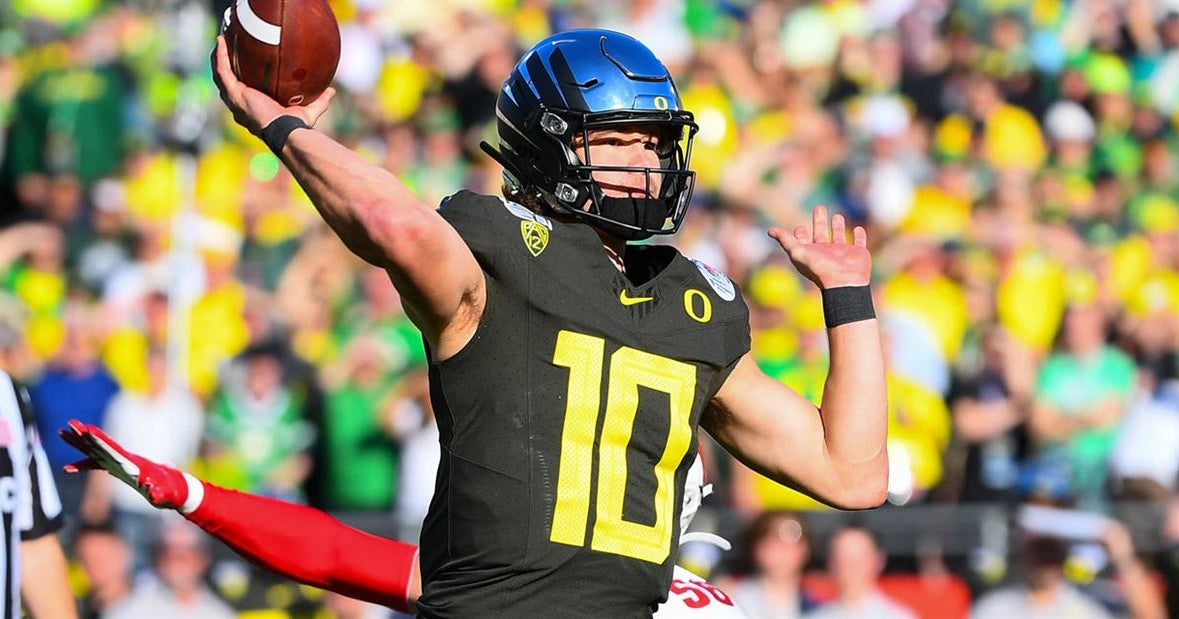 What they're saying about Justin Herbert ahead of the NFL Draft