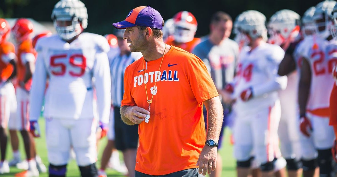 Wednesday update: Swinney on injuries, third down, tackling