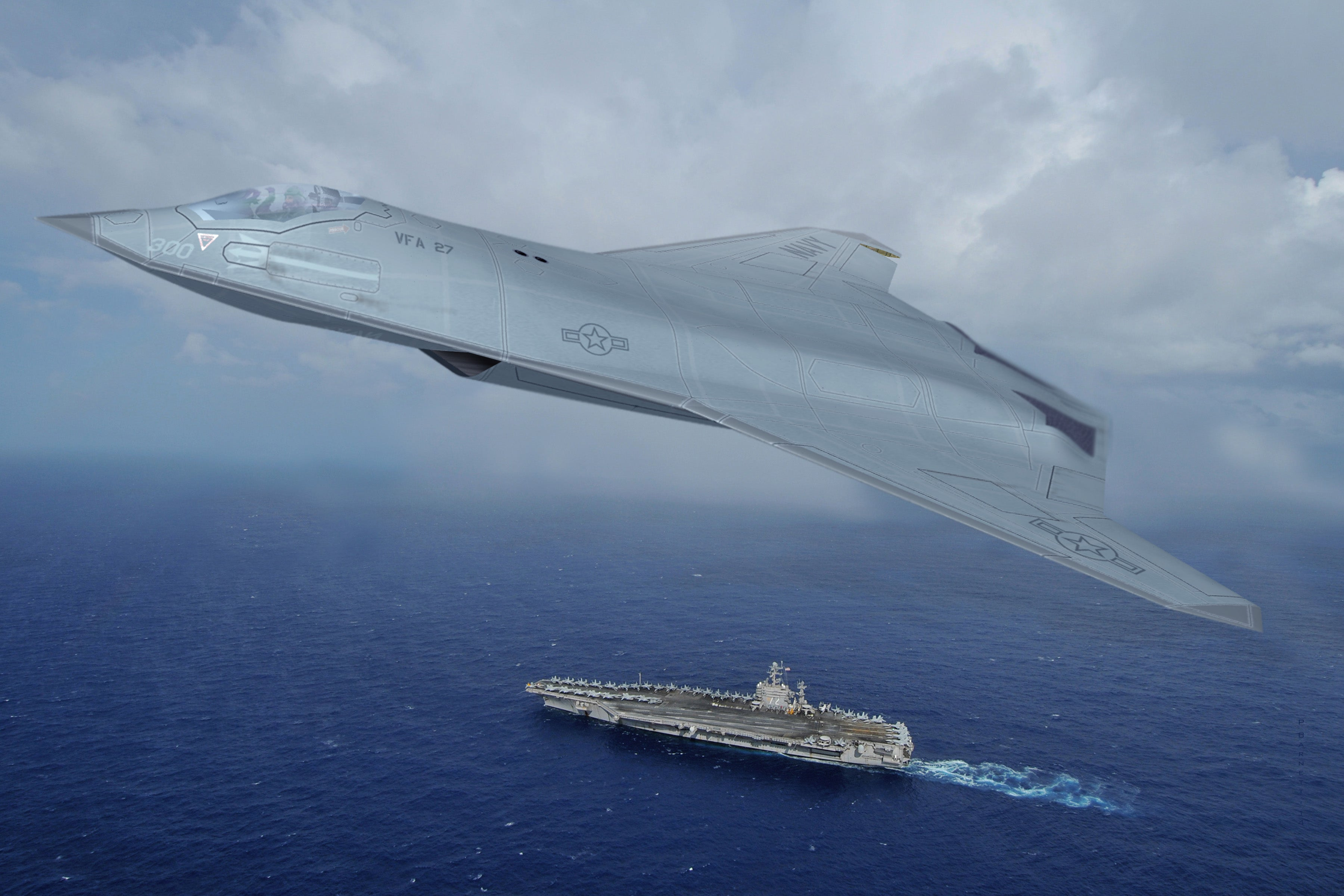 With the recent advances in technology and design aircraft concepts - The Pentagon S 6th Generation Fighter May Be Stealthy And Will Likely Have Next Generation Computers Electronic Warfare Technology Speed