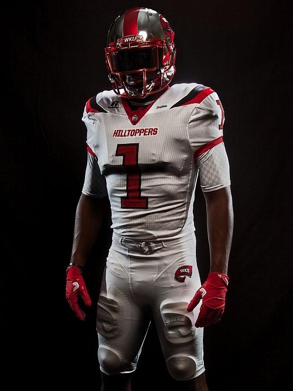 Wku Football Unveils New Uniforms