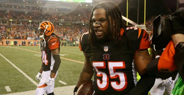 low priced b8faf 0303f NFL officially suspends Vontaze Burfict