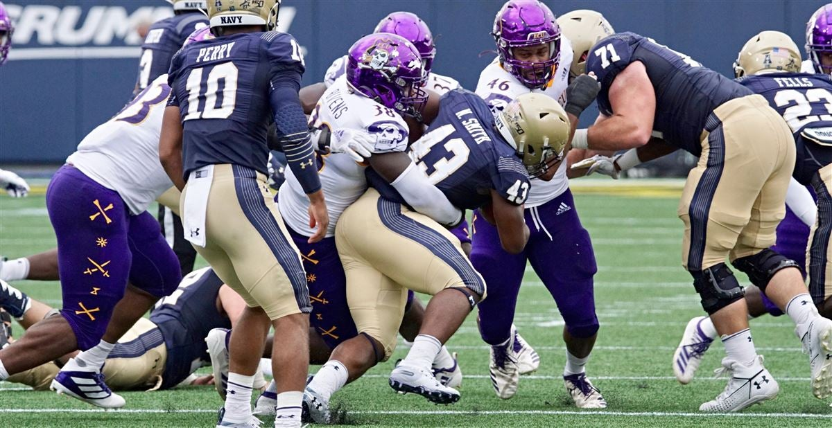 VIP impressions from ECU's loss at Navy