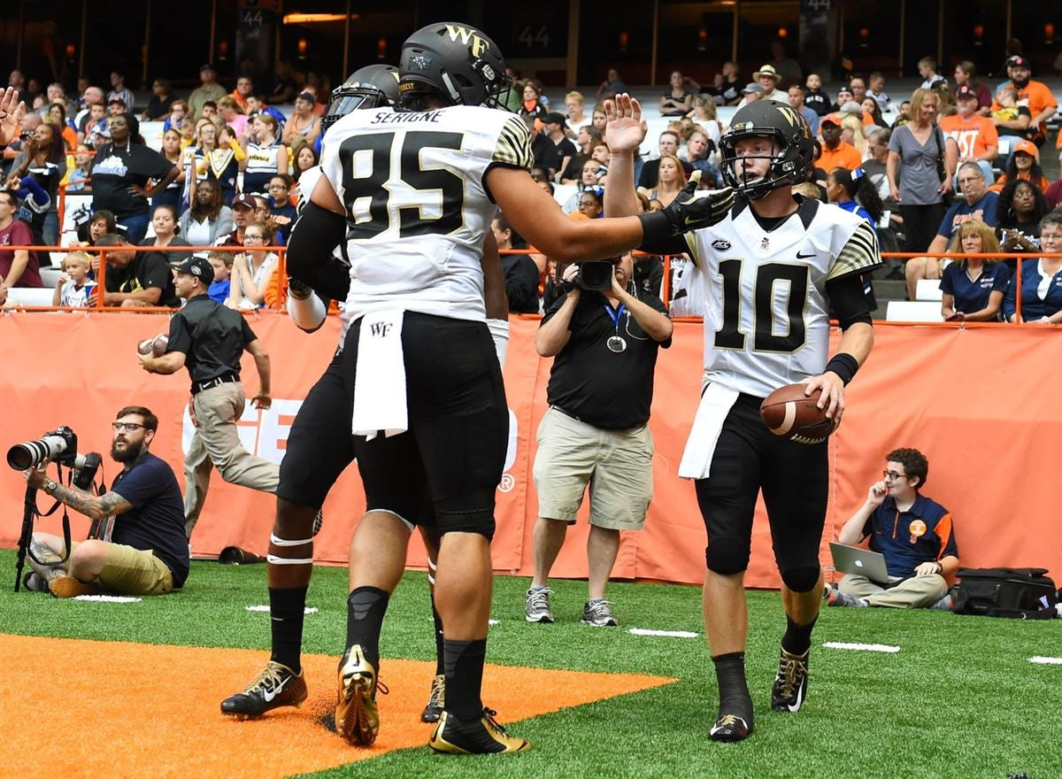 Wake Forest Football - Offense Depth Chart Projections