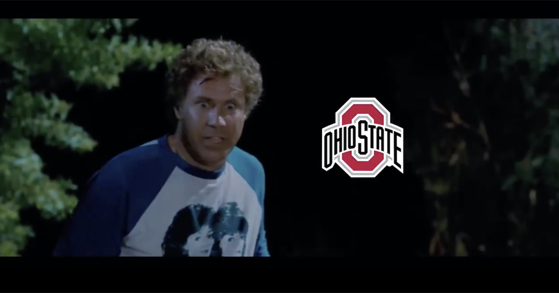 Watch: Nebraska, Ohio State exchange Step Brother video tweet