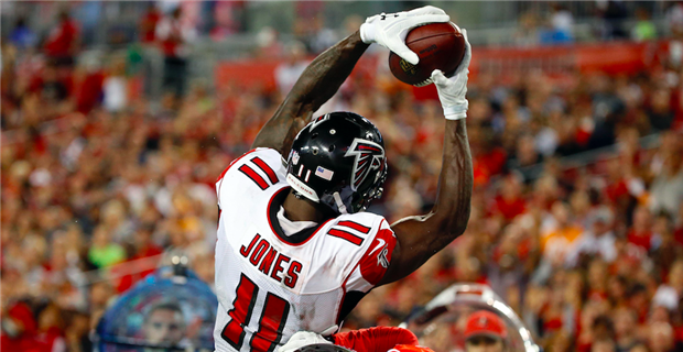 79035483be6 Falcons fans irate after Julio Jones' non-call