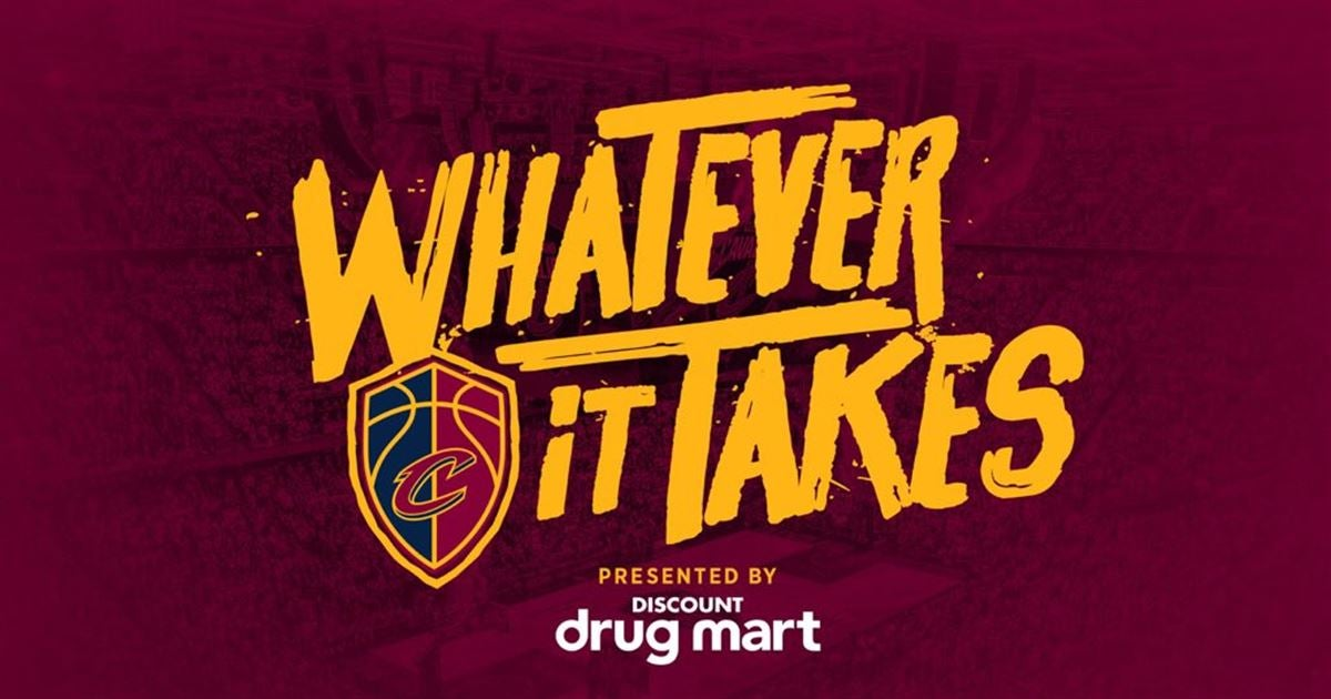 Cavs unveil 'Whatever it Takes' slogan for playoffs