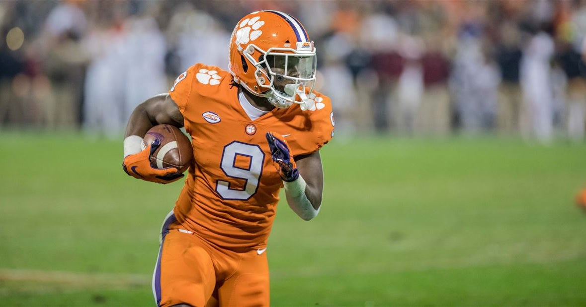 Travis Etienne voted ACC Player of the Year