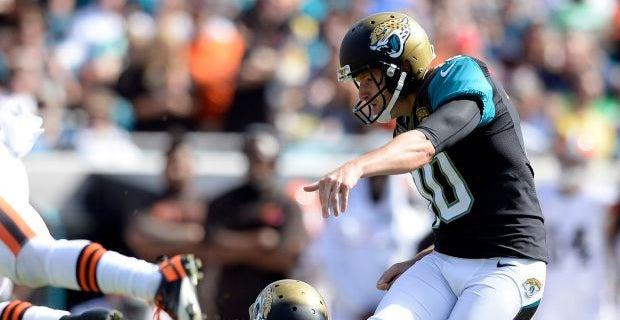d6eb24e7f Steelers acquire Jaguars kicker Josh Scobee