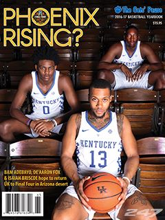 New Cats Pause Kentucky Basketball Yearbook Now On Sale